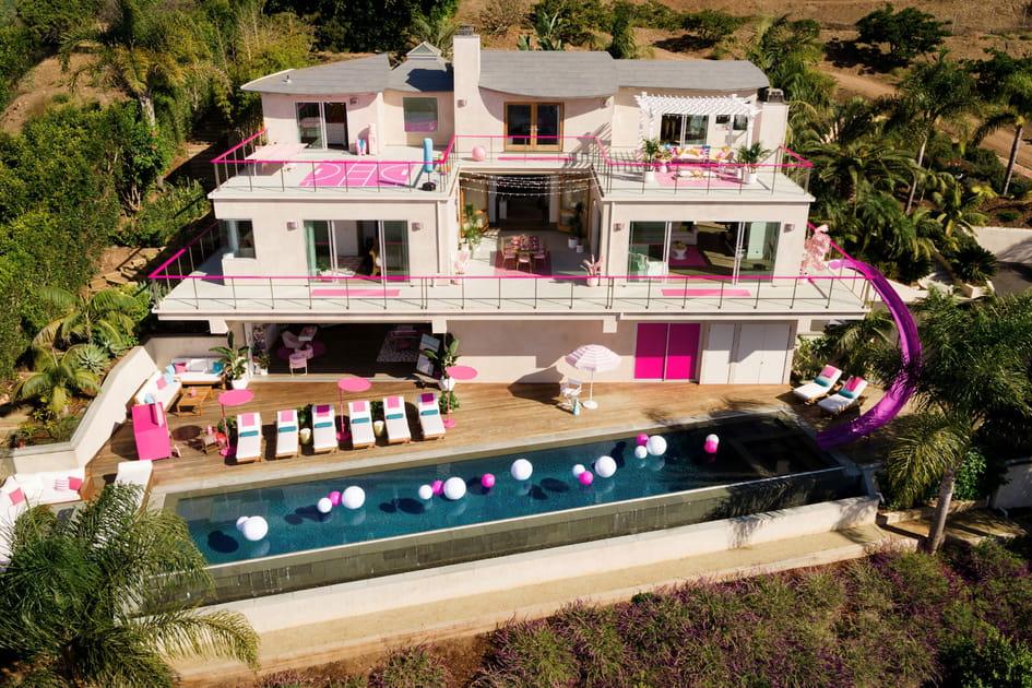 La maison de Barbie grandeur nature à Malibu
