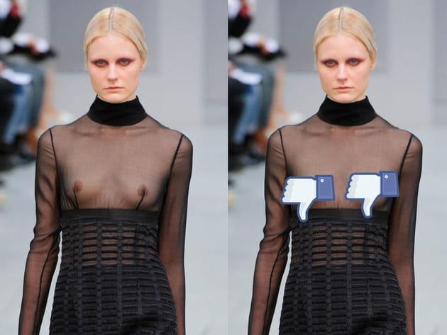 La mode, revue et corrigée par Facebook: un musée de l'horreur...