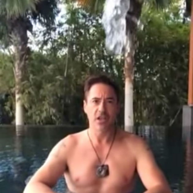 Robert Downey Junior Ice Bucket