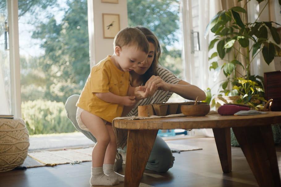 Enfance, nature et bien-être s'harmonisent avec Pampers
