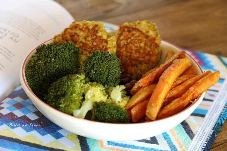 Végétal bowl riche en protéines et fibres végétales