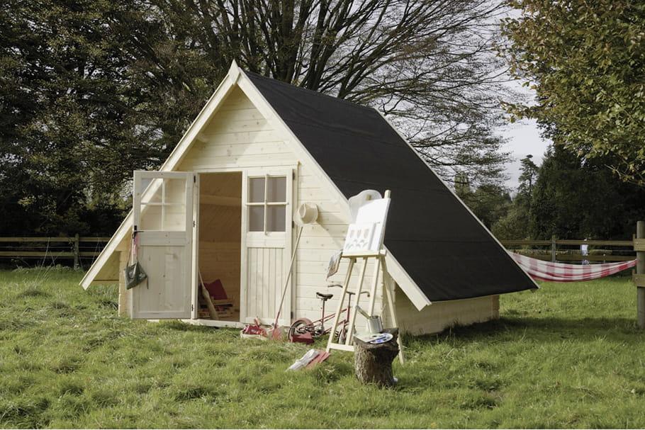 abri de jardin maisonnette dax chez truffaut. Black Bedroom Furniture Sets. Home Design Ideas