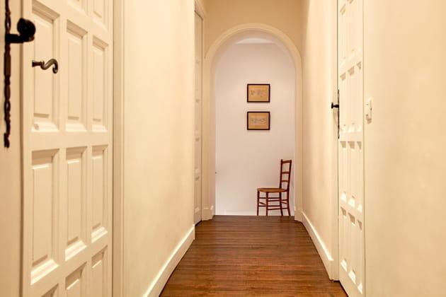 En couloir