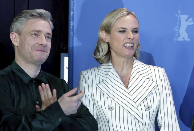 Diane Kruger fait la grimace à la Berlinale