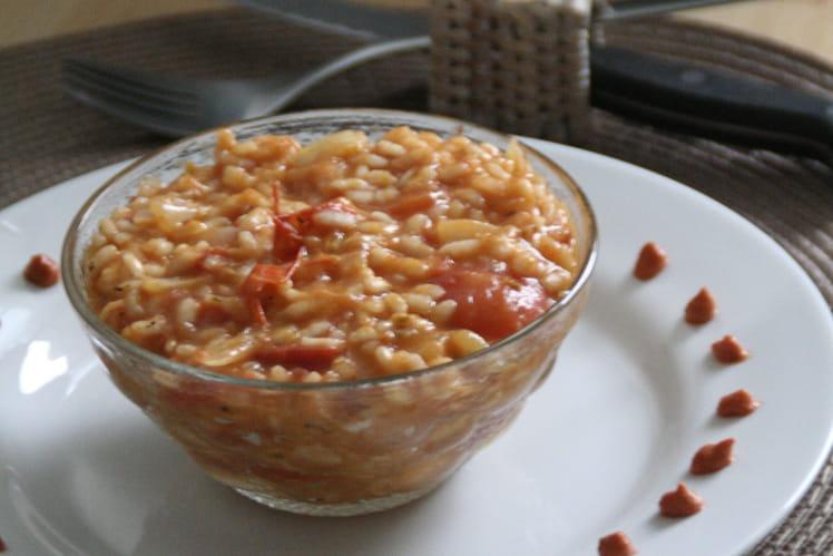 Risotto aux tomates cerise