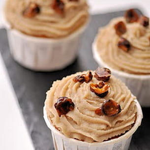 cupcakes aux marrons pure gourmandise