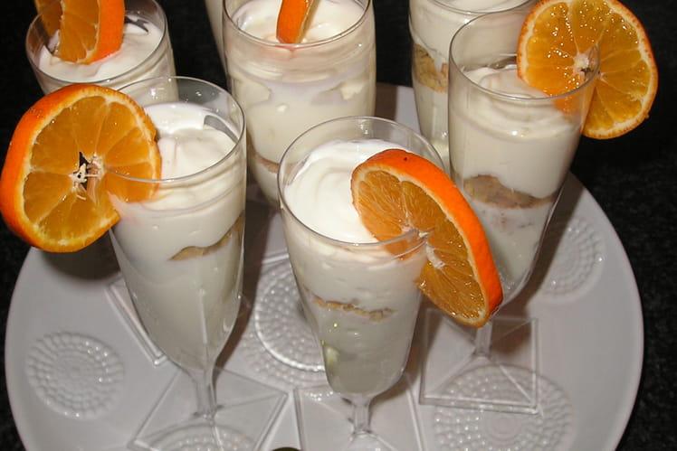 Crumble de vanille à l'orange