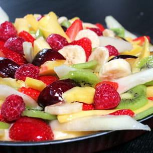 tarte comme une salade de fruits