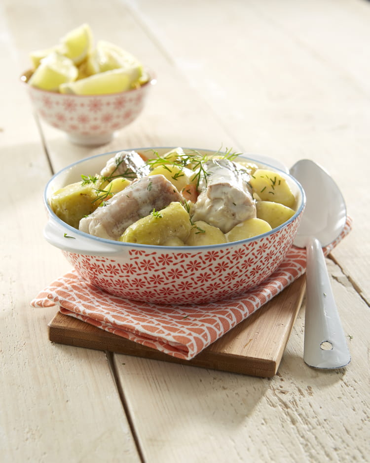 recette de saumonette et ses pommes de terre ratte du touquet la recette facile. Black Bedroom Furniture Sets. Home Design Ideas