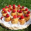 7 mini cakes cerises pistaches sandrine baumann 300