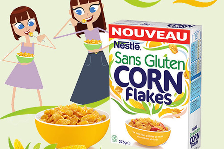 Nestlé lance de nouvelles céréales sans gluten.  Et c'est une bonne nouvelle !