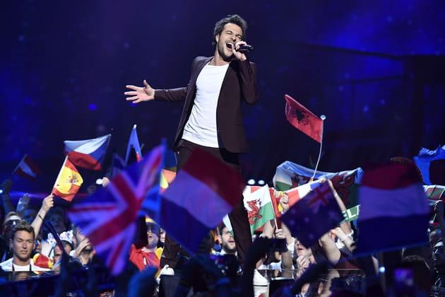 Amir a porté les couleurs de la France