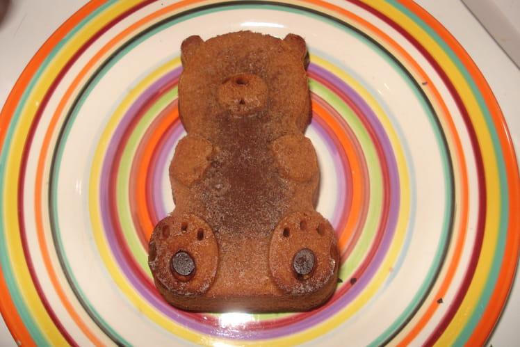 Petits cakes au chocolat au lait et aux noisettes