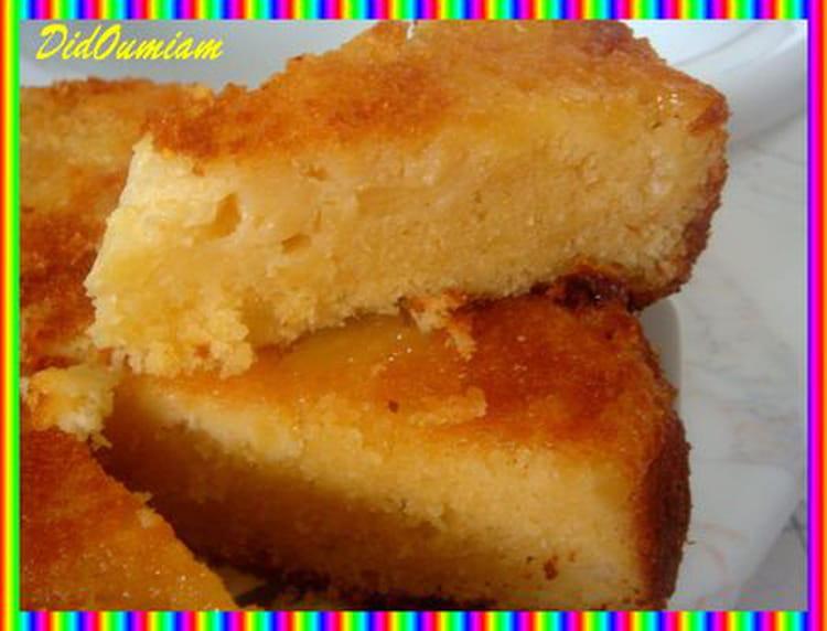 recette de gâteau à l'ananas, amande et noix de coco : la recette