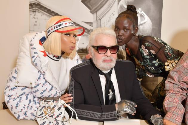 Karl Lagerfeld, transformé