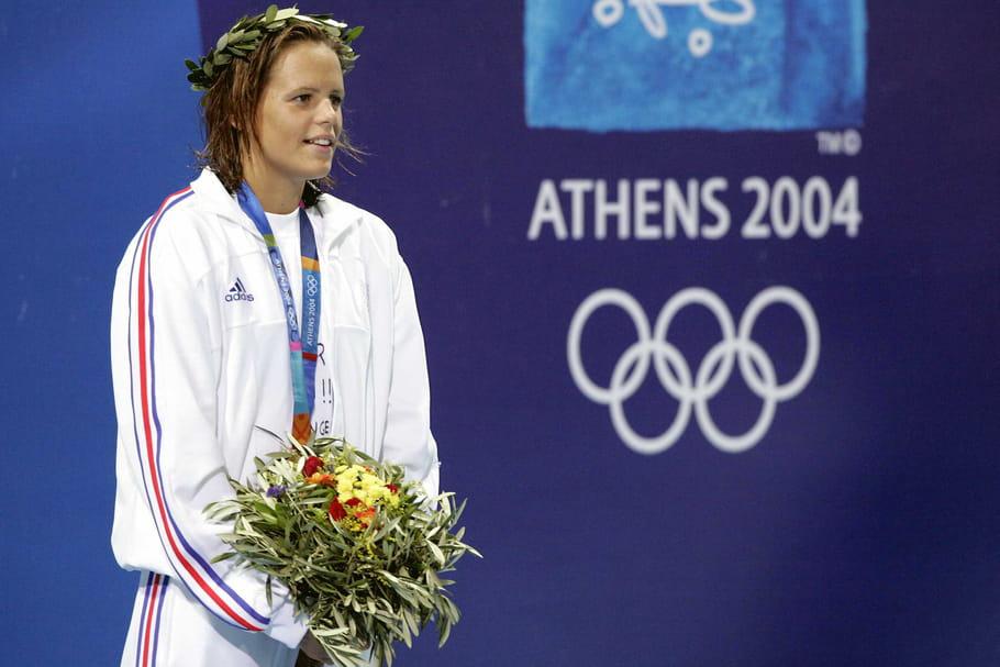 Médaillée d'or à Athènes en 2004