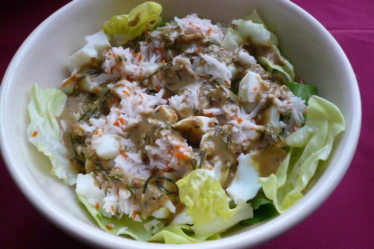 La salade fraicheur Dukan
