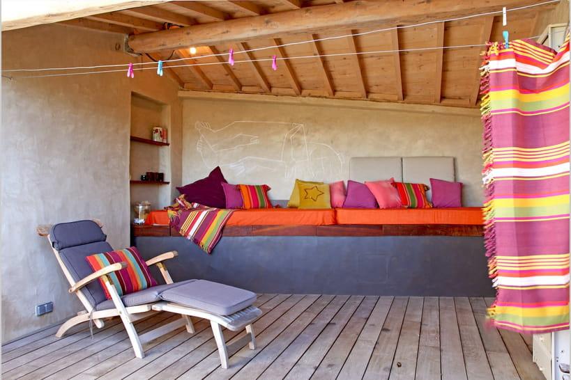 15idées pour décorer une terrasse bohème chic