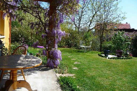 La terrasse pour profiter des beaux jours