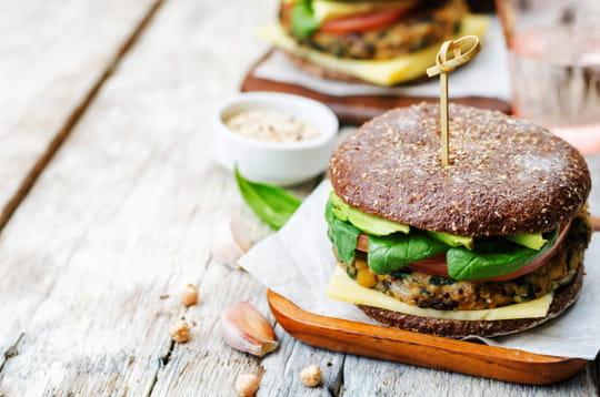 25recettes de hamburgers végétariens