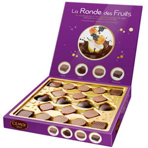 coffret 'la ronde des fruits' de cémoi
