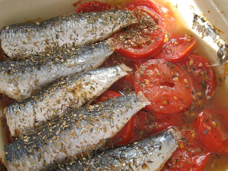 Recette de sardines au four la recette facile - Cuisiner des filets de sardines fraiches ...