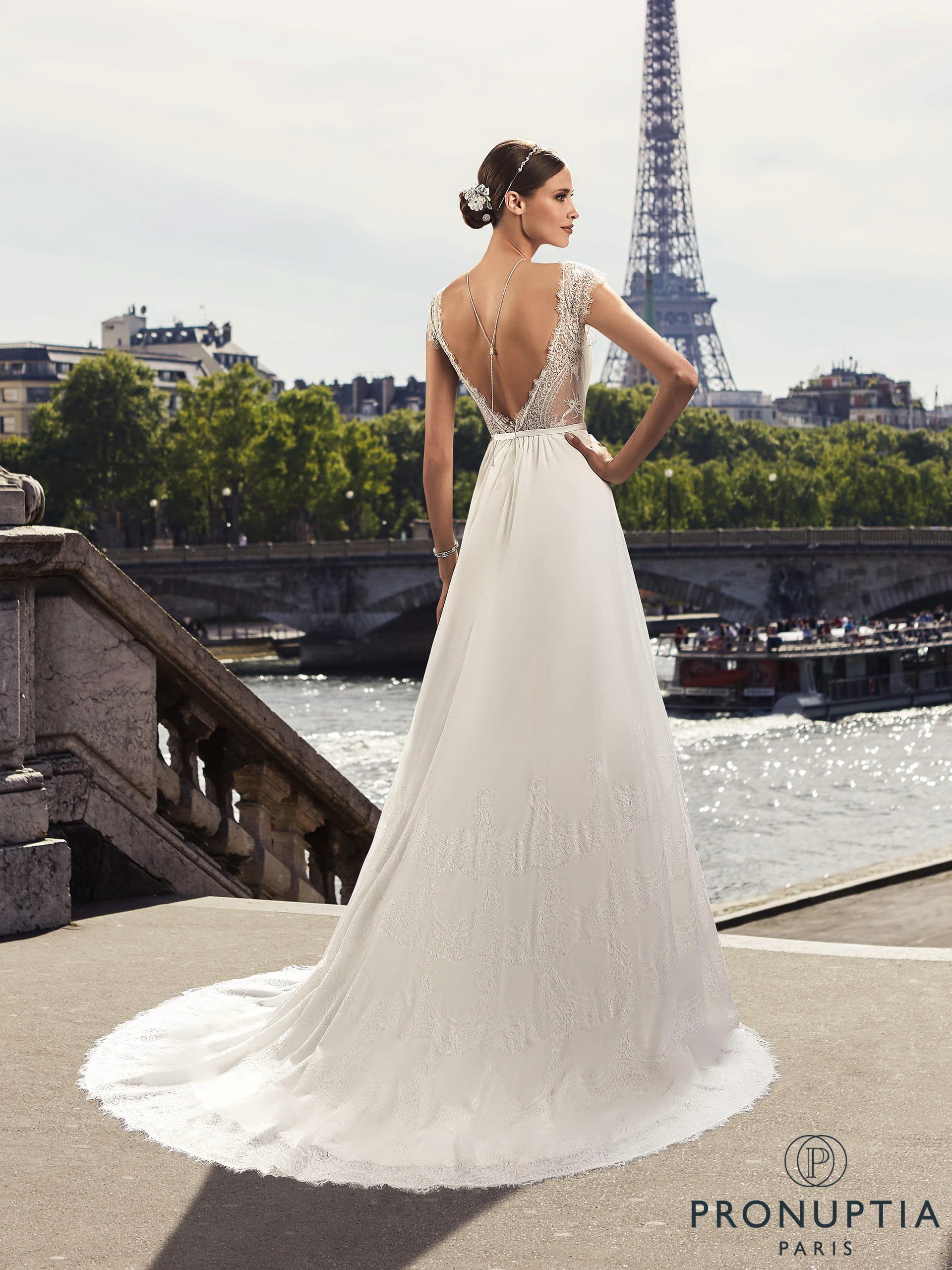 les dernières nouveautés info pour bonne qualité Robe de mariée Villette, Pronuptia
