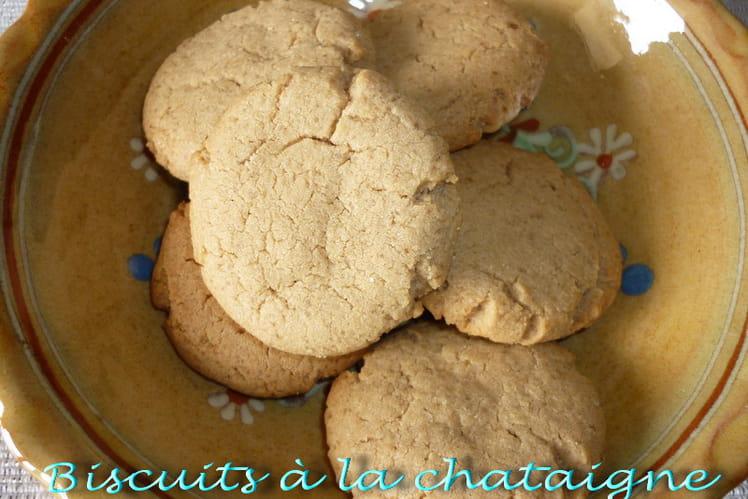 Biscuits à la châtaigne