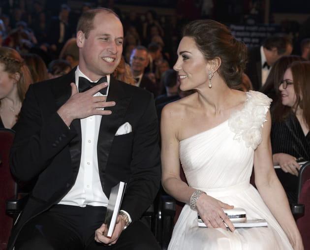 Le Duc et la Duchesse de Cambridge aux BAFTA