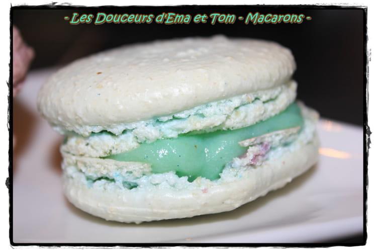 Macarons schtroumpfeurs