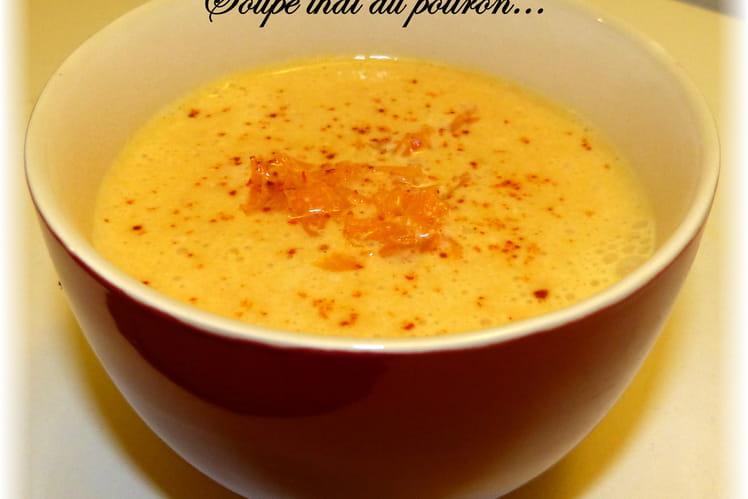 Soupe Thaï au potiron