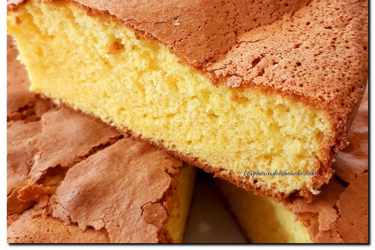 Gâteau au yaourt mousseline