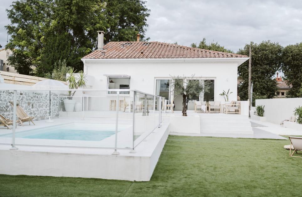 Un pavillon d'inspiration méditerranéenne