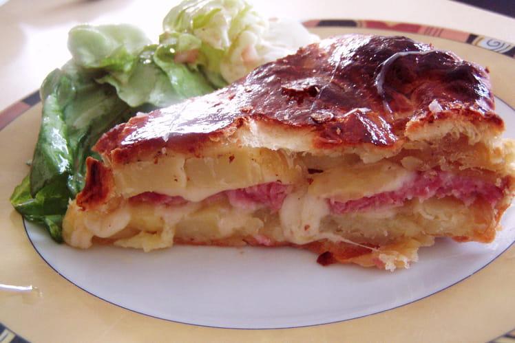 Tourte traditionnelle francomtoise