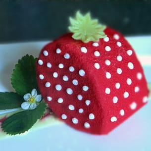 fraisier façon gariguette