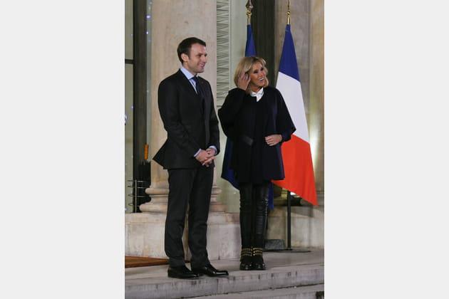 Brigitte Macron le 18décembre 2017