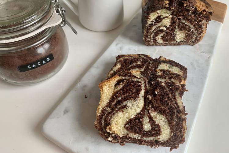 Cake marbré de François Perret (sans glaçage)