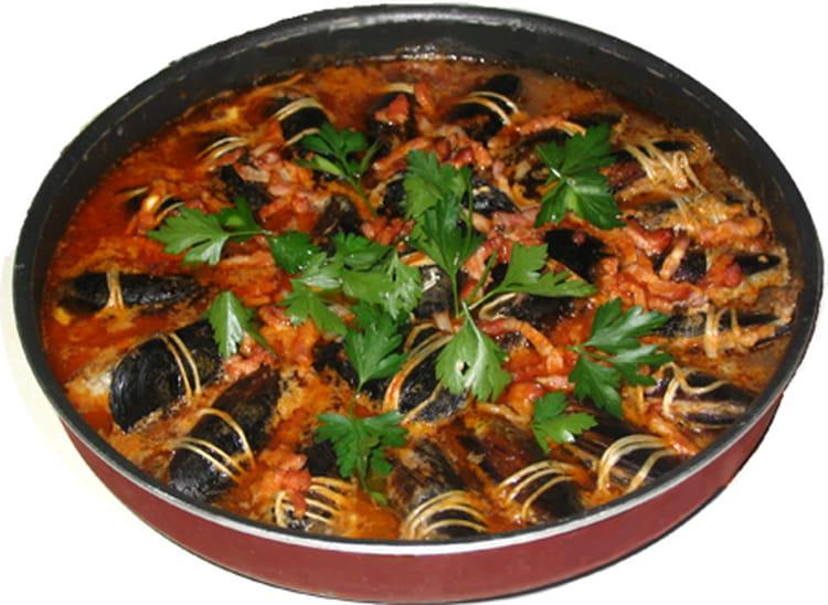 recette de moules farcies à la provençale : la recette facile