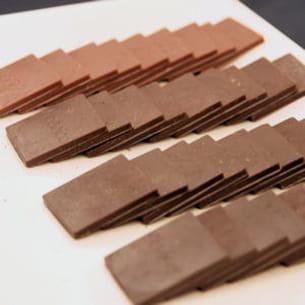 la couleur du chocolat est-elle liée à son taux de cacao ?