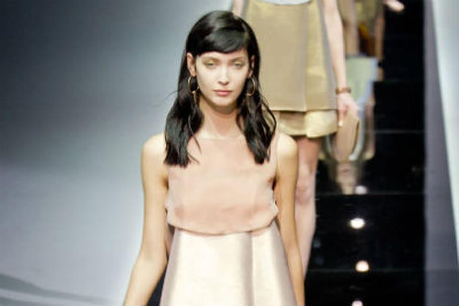 Fashion week: exercice graphique chez Emporio Armani