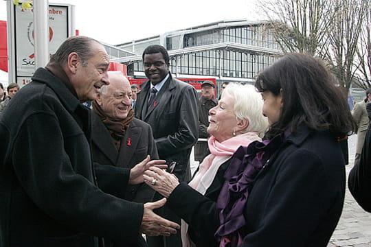 Jacques Chirac et ses amis vedettes