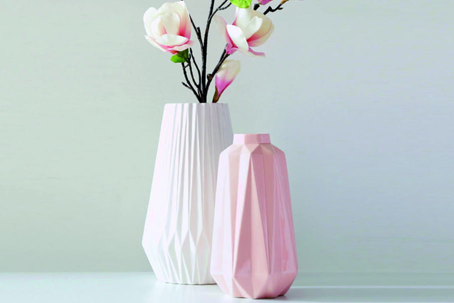 l 39 objet du d sir le vase origami de becquet. Black Bedroom Furniture Sets. Home Design Ideas