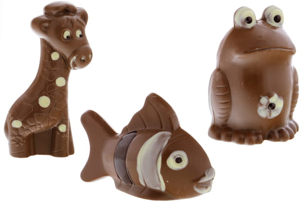 Les animaux en chocolat Leader Price