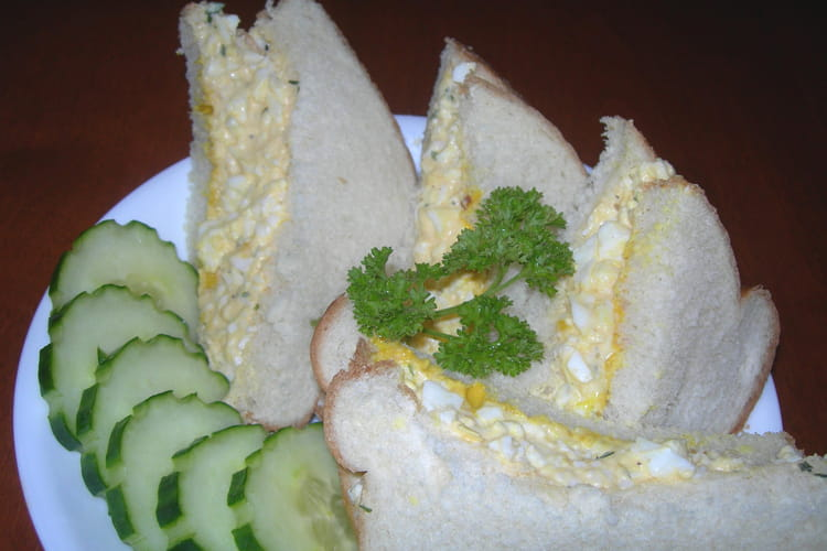 Sandwichs aux oeufs