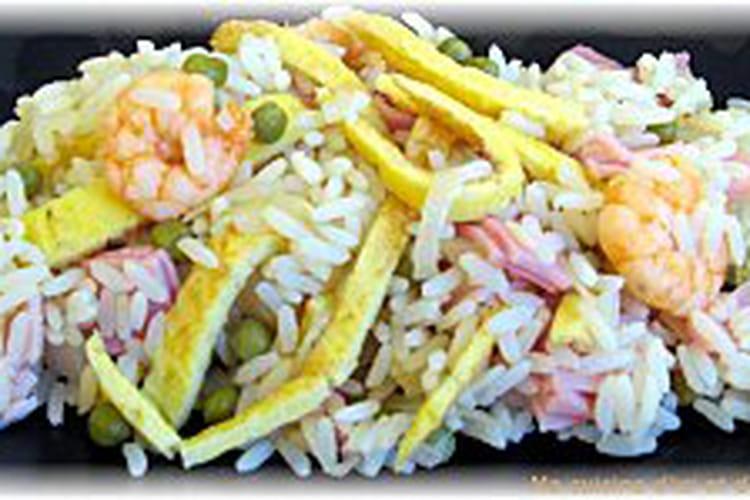 Riz cantonais traditionnel