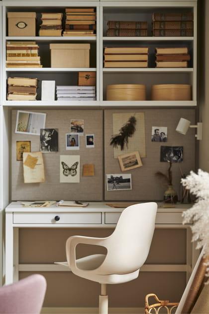 Bureau HEMNES blanc IKEA