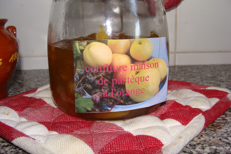 Confiture de pastèque à l'orange