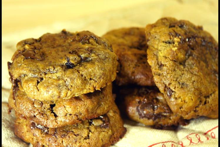 Cookies bio mélasse, rhum et raisins