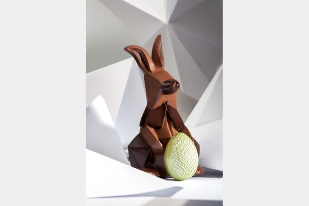 Lapin Origami de Pâques de la Manufacture Cluizel