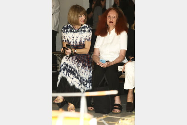 Anna Wintour et Grace Coddington
